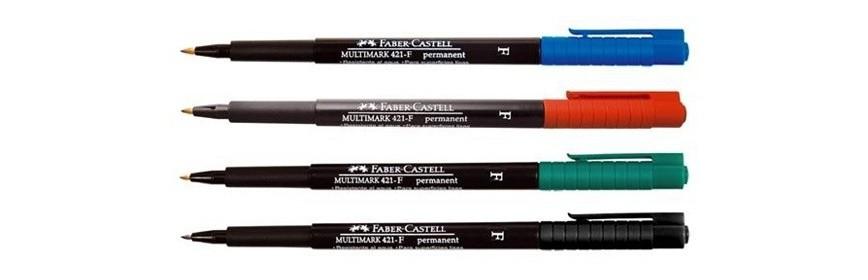 Rotuladores y marcadores Faber Castell
