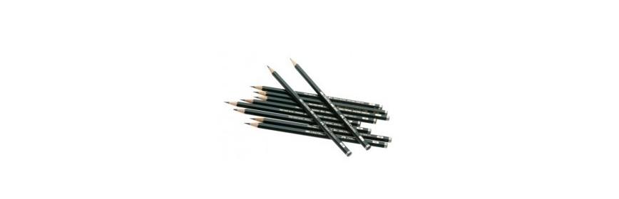 Lápices y gomas Faber Castell